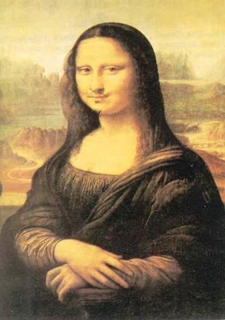IL DADAISMO - 1-Trousse d' un Da Dadaism Mona Lisa