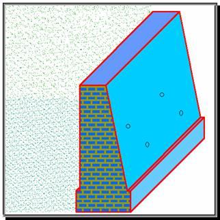 Muro Di Sostegno A Confine.Costruzioni Muro Di Sostegno A Gravita Relazione Tecnica