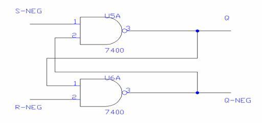 Verifica del funzionamento dei flip flop for Porte nand transistor