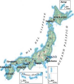 Il Giappone Cartina Politica.Il Giappone Geografia Fisica Geografia Umana