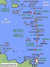 Olanda Cartina Fisica.Antille