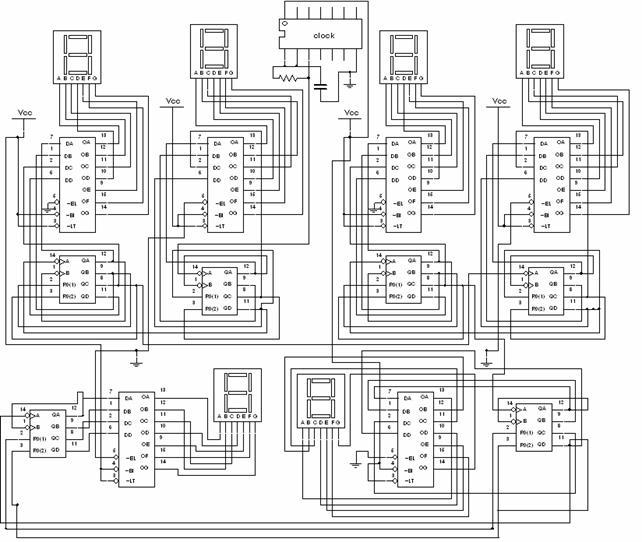 Schema Collegamento Orologio Elettromeccanico : Progettazione e verifica del funzionamento di un orologio
